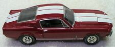 ERTL 1/43 Burgandy '67 Ford Mustang  Shelby GT-350-American Muscle Series-LN