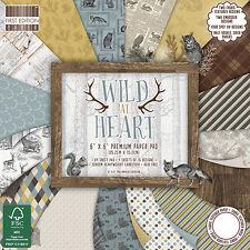 "Wild at Heart-Primera Edicion papeles Catador Paquete de papeles - 6""x6"""