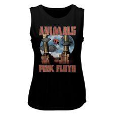Pink Floyd Animals Black Women's Muscle Tank Top T-Shirt
