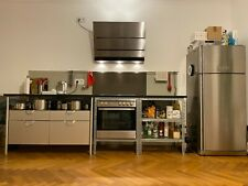 Küchen zweizeilig BULTHAUP System 20, EISINGER, AEG-Elektrogeräte, Granit-Platte