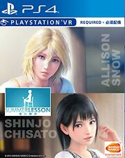 Summer Lesson: Allison Snow & Chisato Shinjo HK Chinese sub PS4 (VR Required)