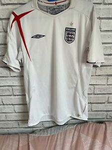 England 2006 World Cup Home Shirt M