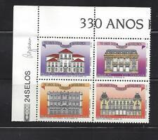 BRAZIL - 2416 - MNH - BLOCK OF 4 - 1993 - 330TH ANN  BRAZILIAN POST