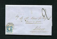 """Österreich - """"Triest"""" 1860 mit Tax Stempel    (#2488)"""