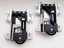 Qty 2 Spacepro / Stanley 17-4264Y-000 sliding wardrobe door replacement wheels.