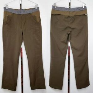 Avalanche Pants Size XL Active Wear Hiking Fishing Camping Womens Brown Gray