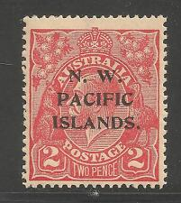 N.W. Pacific Islands #44 ( A8) VF MINT LH - 1918 2p King George V - Overprinted