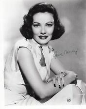 Gene Tierney 8x10 Original Photo Autograph COA