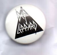 DEF LEPPARD BUTTON BADGE Classic English Rock Band 80s HYSTERIA, ADRENALIZE 25mm