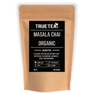 Masala Chai Black Tea (No.24) - Organic Loose Leaf Black Tea - True Tea Co.