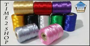 10 X Large Floss Spools Embroidery Thread Suitable Tajima, PFAFF | UK