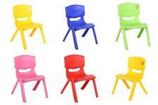 Enfants Chaise Plastique Empilable Jusqu'À 60kg