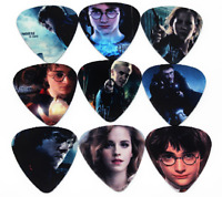 Harry Potter Hermione Guitar Picks Lot of 10 .71 mm Free Tracking Medium New