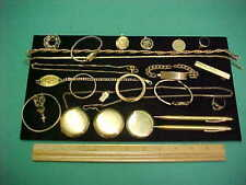 Antique Gold Filled Lot of Jewelry for Resale Scrap or Melt 239.5 Grams