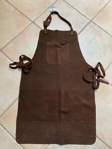 Luxurious Suede Leather Apron (Brown)