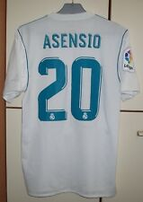 REAL MADRID 2017/2018 HOME FOOTBALL SHIRT JERSEY PLAYER ISSUE ADIZERO ASENSIO