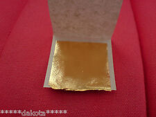 24K Gold Leaf sheets ~ Gilding Kits also available.