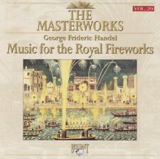 Handel - The masterworks - Music for the royal fireworks - CD -