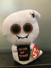 """Ty Beanie Boo HAUNTS the Ghost 6"""" Claire's Exclusive MWMTS"""