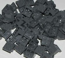Lego Lot of 50 New Dark Bluish Gray Bracket 3 x 2 x 1 1/3 Pieces Parts