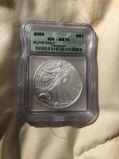 2003 Silver Eagle MS70