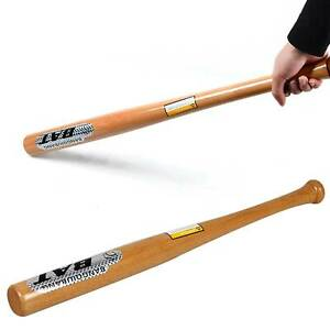 """32"""" Heavy Duty Wooden Baseball Rounders with or without Softball Bat size"""