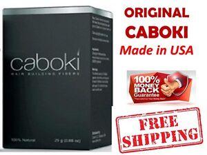 CABOKI Hair Building Fibers Thickner Concealer Hair Loss Treatment - GENUINE AU