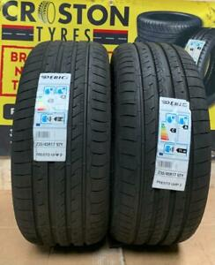 2 X 235/45ZR17 97Y DEBICA  A RATED MADE IN POLAND QUALITY TYRES