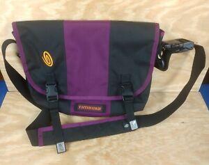 TIMBUK2 Purple and Black Messenger Bag Small Size