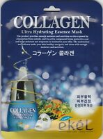 EKEL Ultra Hydrating Essence Maskpack Korean Masksheet cosmetics COLLAGEN 10 pcs
