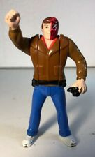 1995 Marvel Comics Flip Head Action Figure Peter Parker Spider-Man Spiderman D3