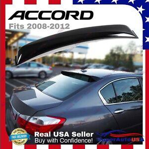 Honda Accord 2008-2012 Sedan Sedan JDM Sport Rear Roof Window Visor Spoiler Wing
