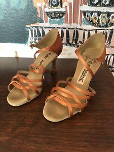 Ray Rose dance shoes, Gobi xtra dark tan, UK size 2.5