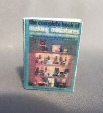 Dollhouse Miniature 1:12 Scale The Complete Book of Making Miniatures Book