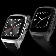 X02 Touchscreen Smartwatch Android 5.1 OS Camera Bluetooth GPS - BLACK