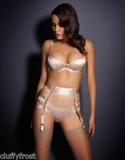 AGENT PROVOCATEUR NUDE ZSI ZSI BRA 32A OR 36DD & 2 SMALL SUSPENDER & BRIEF 3 MED