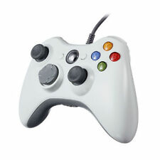 White Wired USB Game Pad Controller For XBOX360 Slim
