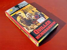 VHS.13) QUILLER MEMORANDUM - GEORGE SEGAL