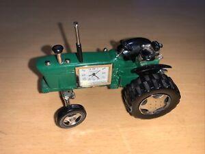 Farm Farmyard Quartz Green Tractor Miniature Desk Clock Collectable Farmer Gifts