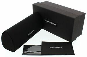 BRAND NEW DOLCE&GABANA DG EYEGLASSES SUNGLASSES BOX CASE SEALED CLOTH DOCUMENTS