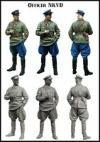 1:35 Scale Resin Figure Model Kit Soviet Officer WWII Unpainted Unassembled