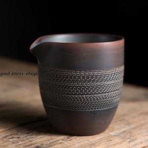 JianShui pottery pitcher creative TiaoDao craft fair cup 7.5 oz gongdaobei mug