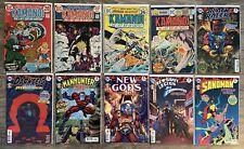 Bronze Age DC Comics Lot – Kamandi 2 8 25 34, Jack Kirby Specials New Gods Orion