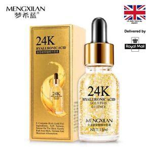 24k Gold Hyaluronic Acid Face Serum Anti Age Anti Wrinkle