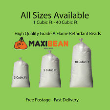 Bean Bag Booster Refill Polystyrene Beads Filling Top Up Bag  Beans Balls