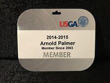 Arnold Palmer USGA Member Golf Bag Tag 2014-2015 Augusta Masters Champion