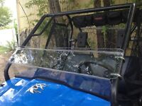 A&S HONDA PIONEER 500 3/16 HALF WINDSHIELD 2015-2020