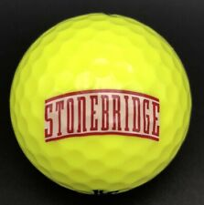 Stonebridge Logo Golf Ball (1) Srixon Soft Feel PreOwned