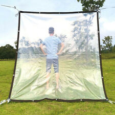 PLASTIC THICKEN TRANSPARENT WATERPROOF GARDEN PLANT FILM COVER SHADE SHELTER