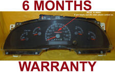 97-98 Ford F150 F250 Pickup Expedition Gas Instrument Cluster NoTach -6Month War